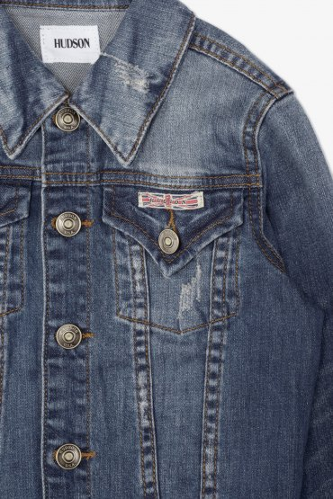 Hudson Designer Jean Jackets Are The Perfect Layer For
