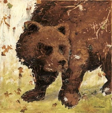 Adventure Bear Canvas