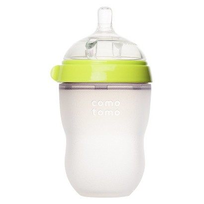 Comotomo 8oz Baby Bottle - Green