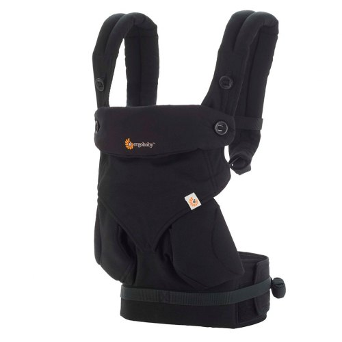 Ergo 360 Baby Carrier - Pure Black