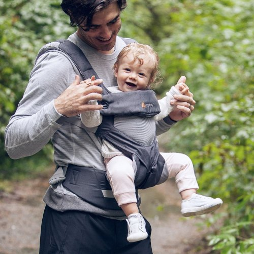 Ergo 360 Baby Carrier In Cool Air Four Comfortable
