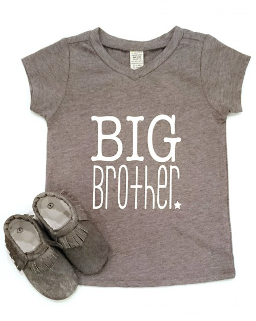 Big Brother Tee - Grey