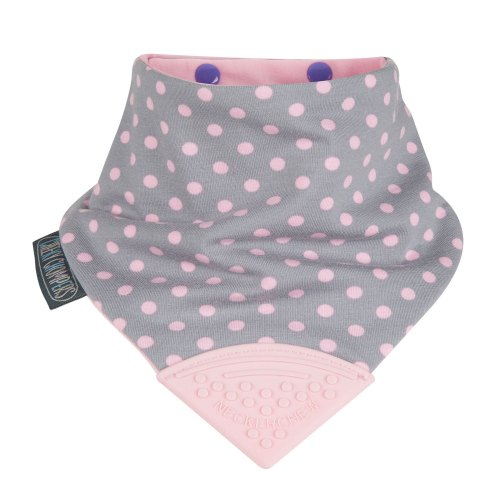 Neckerchew - Polkadot Pink