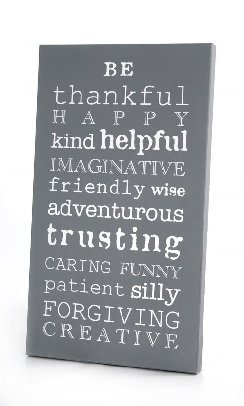 Twelve Timbers Be Thankful Wall Panel - Customizable!