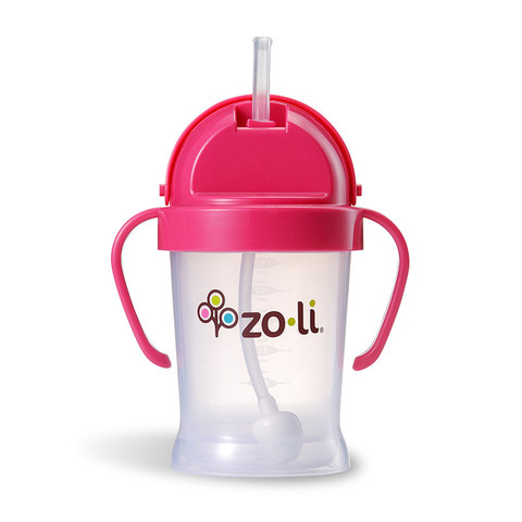 Zoli Bot Sippy Cup - Pink