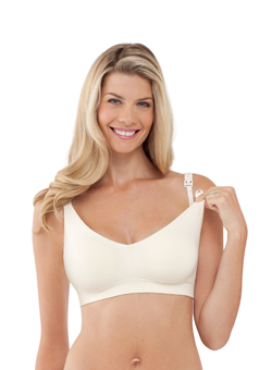 The Body Silk Seamless Nursing Bra - Ivory