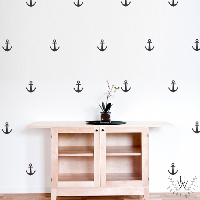 anchors wall decal - urban walls at sugarbabies