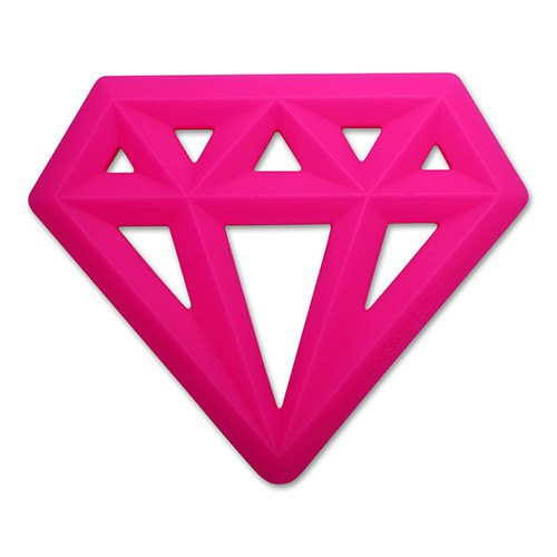 Little Standout Teether - Pink Diamond