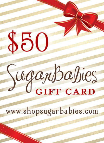 SugarBabies Holiday Gift Certificate