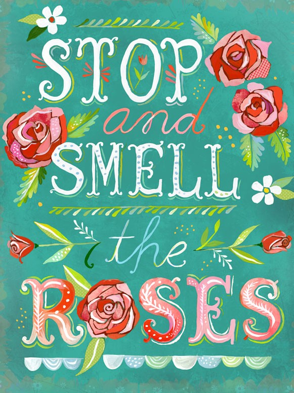 Stop & Smells the Roses Canvas