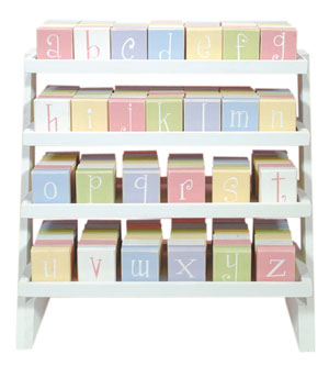 Block Letters From Twelve Timbers Are Perfect For Decorating A Babies Nursery