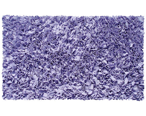 Gy Raggy Rug In Lavender