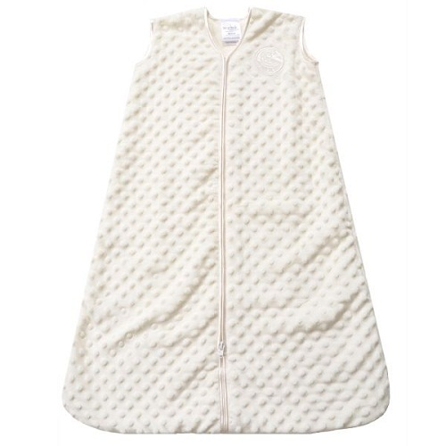 Cream Plush Dot SleepSack