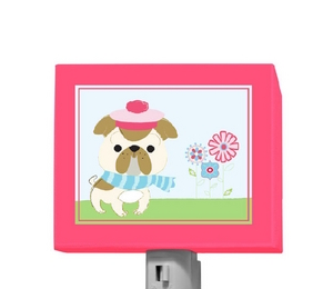 It's a Small World - Frenchie Night Light