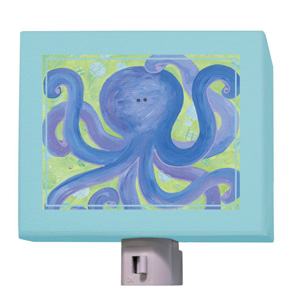 Indigo Octopus Night Light