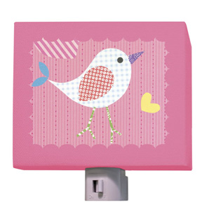 Mod Chick on Hot Pink Night Light