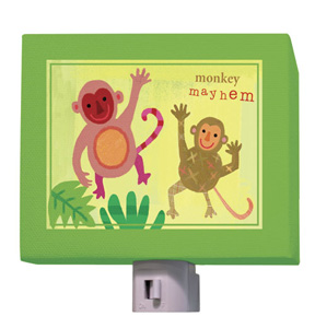 Monkey Mayhem Night Light