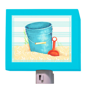 Shovel and Blue Pail Night Light
