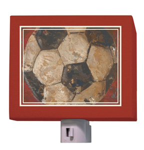Vintage Soccer ball Night Light