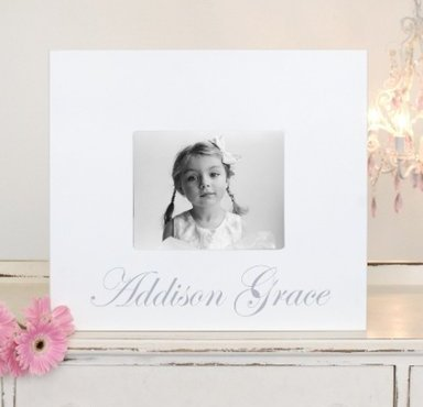 Personalized Keepsake Frame- Girl