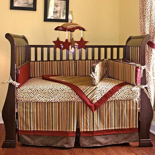 Hot Tamale Crib Bedding