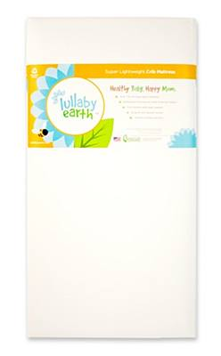 Lullaby Earth Super Light Weight Crib Mattress