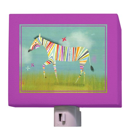Rainbow Zebra Night Light