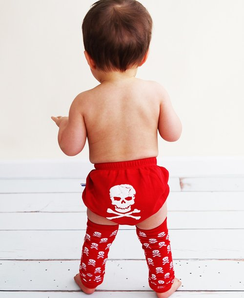 RuggedButts Skull Leg Warmers