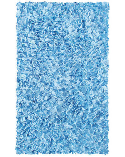 Shaggy Raggy Rug - Light Blue