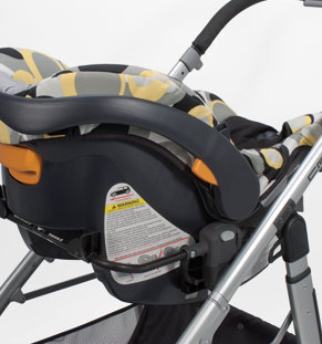 Cruz Infant Car Seat Adapter- Chicco