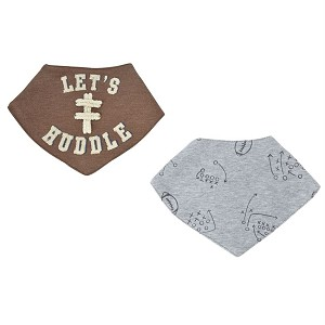 d4961ff36 Mud Pie Football Bandana Bibs | Shop Cute FootballClothes for Baby Boys at  Sugar Babies Boutique!