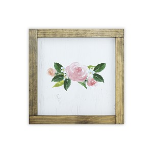 Watercolor Frame Print - Flower Arrangement
