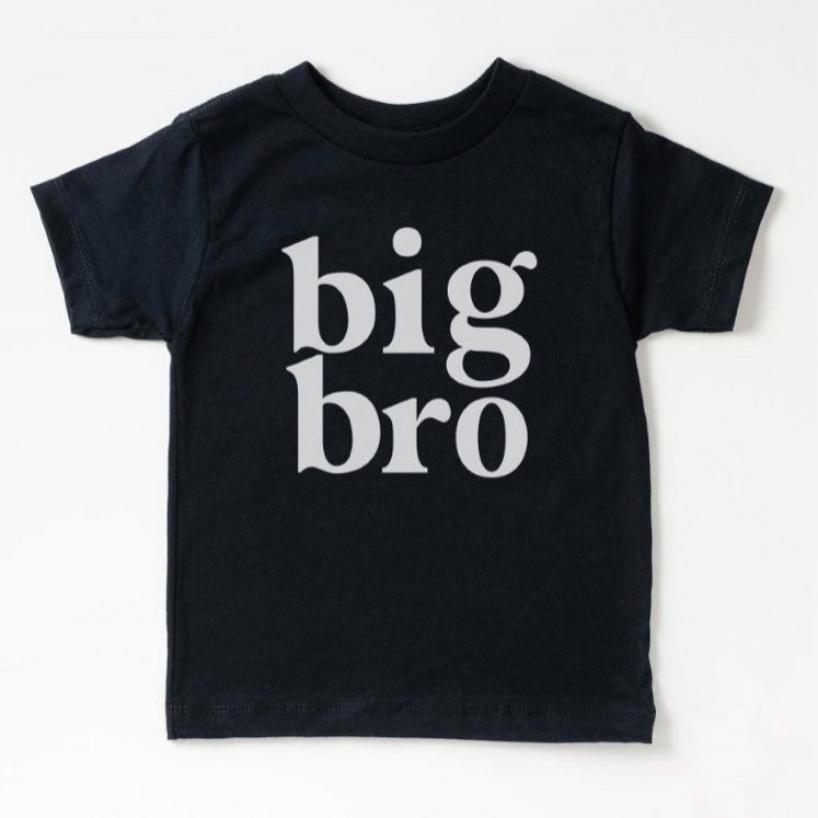 Black Big Bro Tee