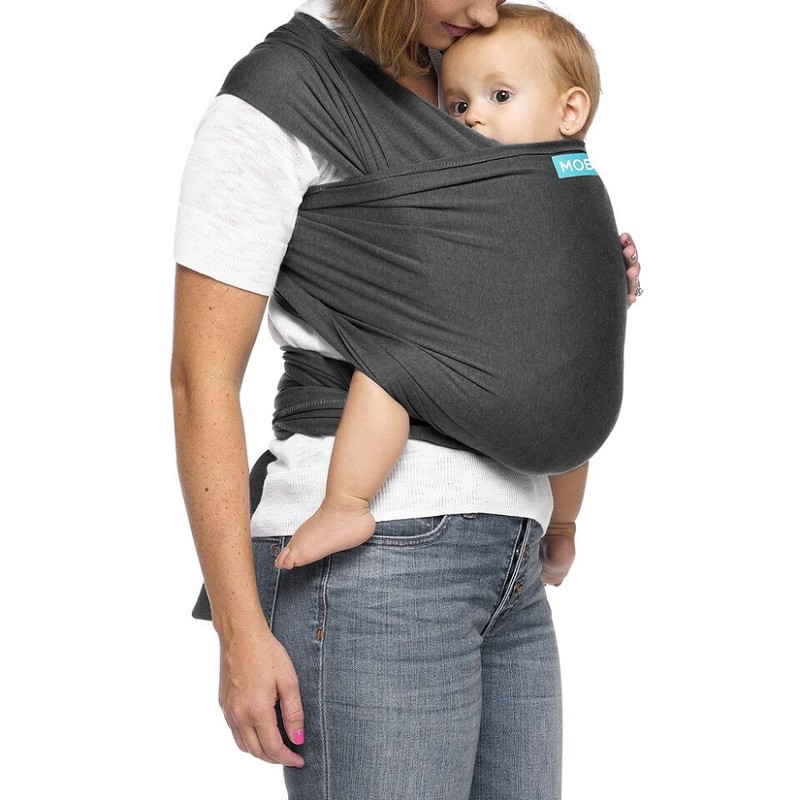 Moby Wrap Evolution - Charcoal
