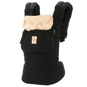 Ergo Baby Carrier - Black & Camel