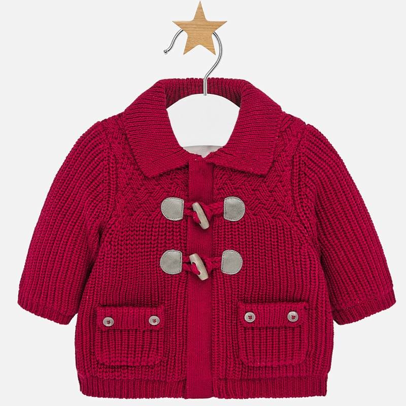 Burgundy Baby Boy Sweater