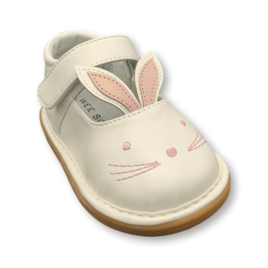 Pearl White Bunny Shoes