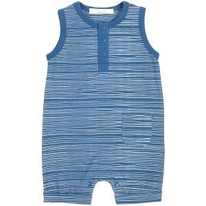 366a25417 Petit Lem Romper in Ocean Blue