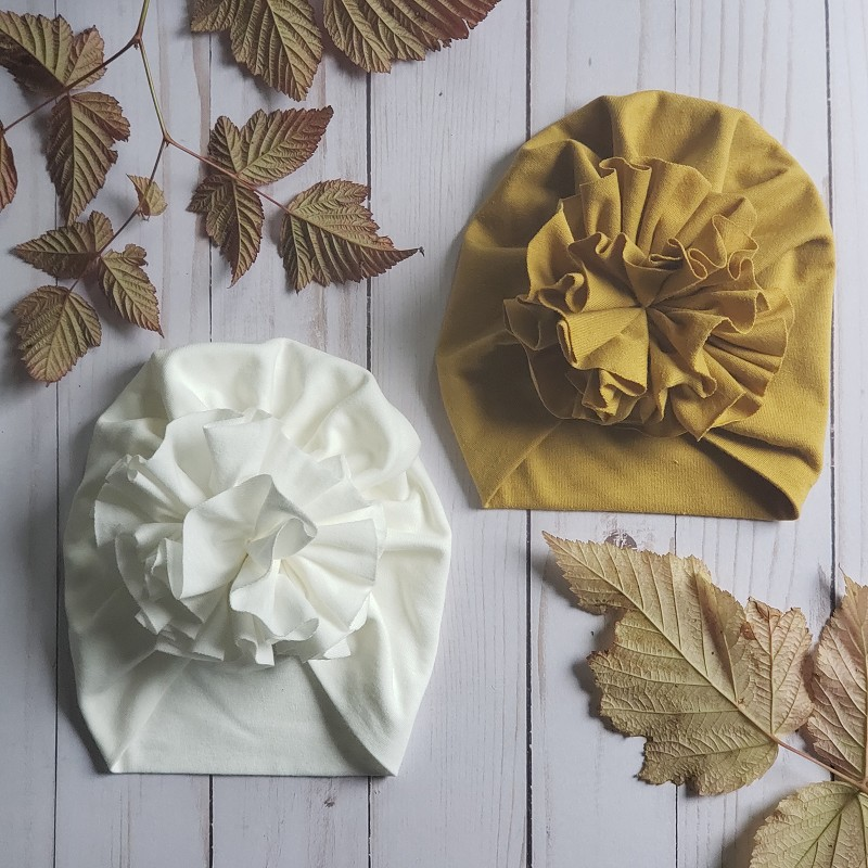 Ruffle Turban - Exclusives!