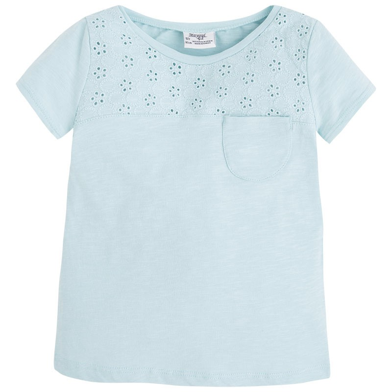 Mayoral Girl's Basic T-Shirt - Aqua