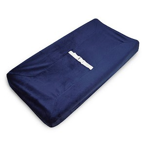 ABC Heavenly Soft Changing Pad Cover - Navy