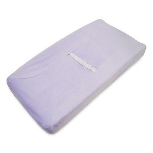 ABC Heavenly Soft Changing Pad Cover - Lavender