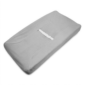 ABC Heavenly Soft Changing Pad Cover - Grey