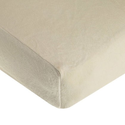 ABC Heavenly Soft Crib Sheet - Ecru