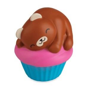 Squishies Jumbo Animal Pals Bear Cupcake