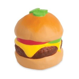 Squishies Jumbo Fun Foods - Hamburger