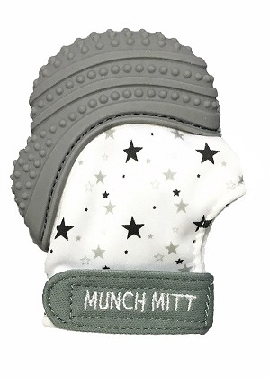 Munch Mitt - Grey Stars