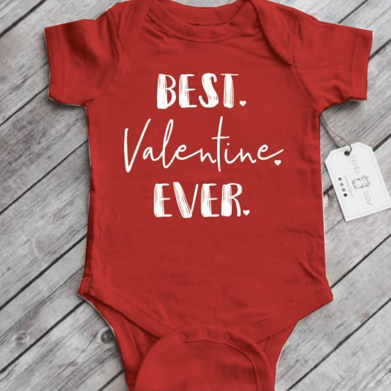 Best Valentine Ever Baby Bodysuit