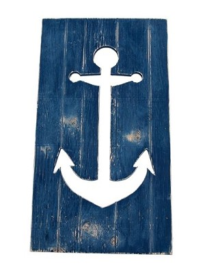 Plank Cut Out - Anchor