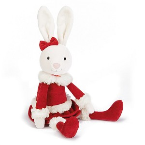 Jellycat Christmas Bitsy Bunny - Medium